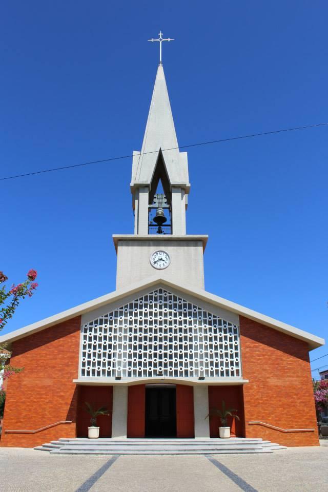 Igreja Matriz da Palhaça-Frente