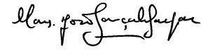 assinatura monsenhor