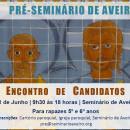 Encontro de candidatos ao Pré Seminário