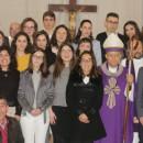 Visita pastoral de D. António Moiteiro à paróquia de São Pedro de Aradas