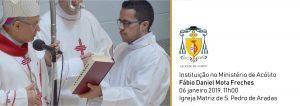 Instituição no Ministério de Acólito do Fábio Daniel Mota Freches @ Igreja Matriz de S. Pedro de Aradas