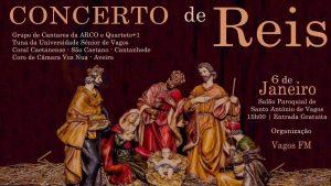Concerto de Reis @ Salão Paroquial de Santo António de Vagos