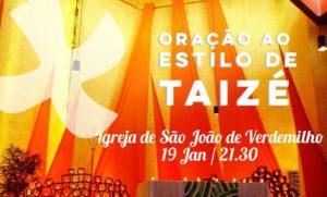 Oração Taizé - Aradas @ Igreja de São João de Verdemilho