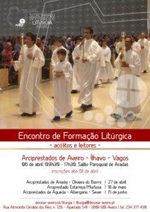 Formação interarciprestal para leitores e acólitos @ Igreja Matriz de S. Pedro de Aradas