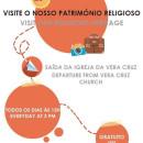 Roteiro religioso diário na paróquia da Vera-Cruz