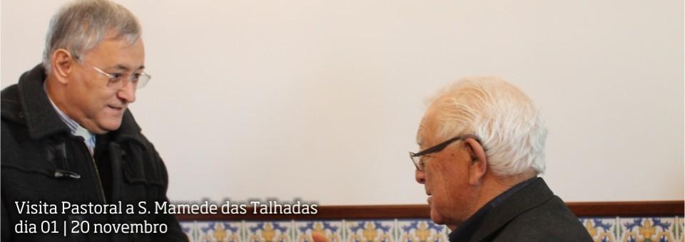Visita Pastoral a S. Mamede das Talhadas   dia 01