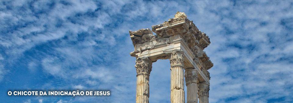 O CHICOTE DA INDIGNAÇÃO DE JESUS