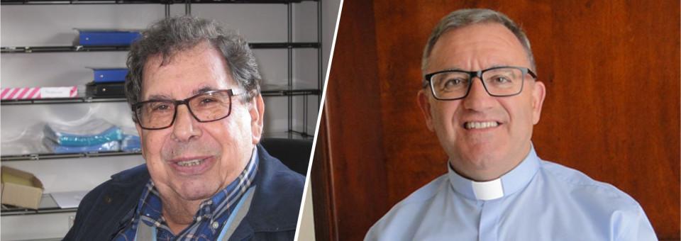 Bodas de ouro e de prata de dois padres naturais da nossa diocese
