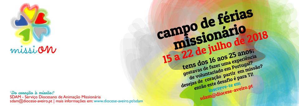 Campo de férias missionário, em Portugal – MissiOn