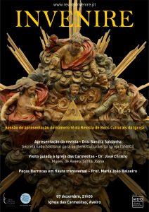 Sessão de apresentação do número 16 da Revista de Bens Culturais da Igreja @ Igreja das Carmelitas, Aveiro