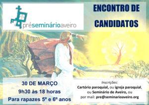 Encontro de candidatos ao Pré-Seminário @ Seminário de Aveiro