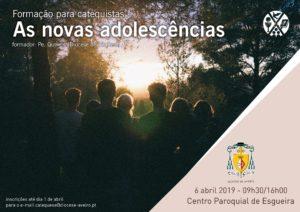 """""""As novas adolescências"""" @ Centro Paroquial de Esgueira"""