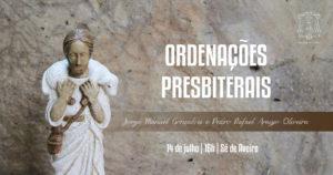 Ordenações presbiterais - Jorge Manuel Gonçalves e Pedro Rafael Araújo Oliveira @ Sé de Aveiro