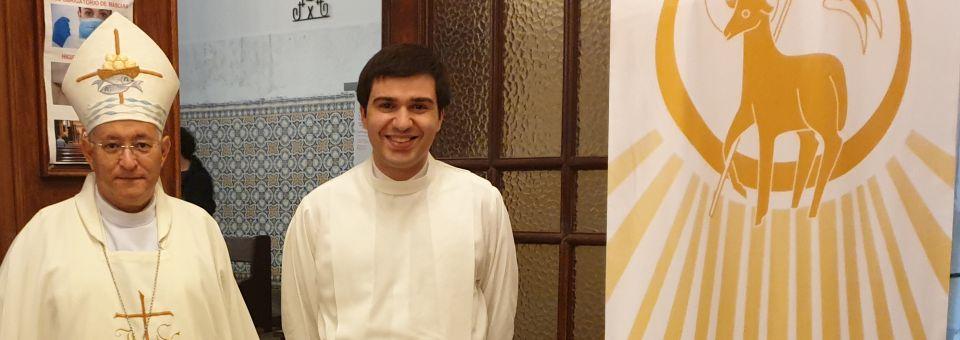 Rafael Oliveira admitido às ordens sacras