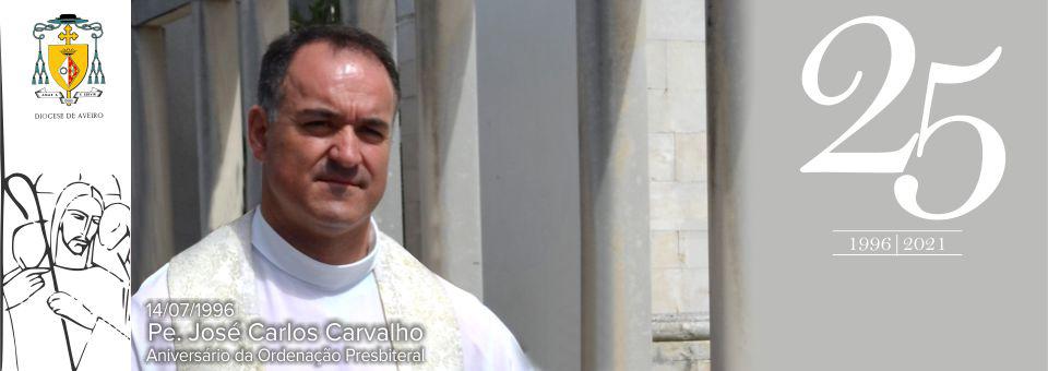 Bodas de prata sacerdotais do P.e João Carvalho